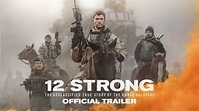 See trailer for 12 Strong, starring Chris Hemsworth