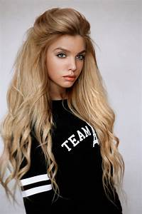 Video glamorous teen blond