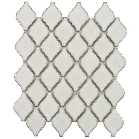 mosaic tile merola tile flooring arabesque selene 9 7 8