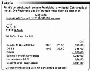 Vorsteuerabzug Rechnung : der zahnarzt und die umsatzsteuer teil 2 verschenken sie keine vorsteuer ~ Themetempest.com Abrechnung