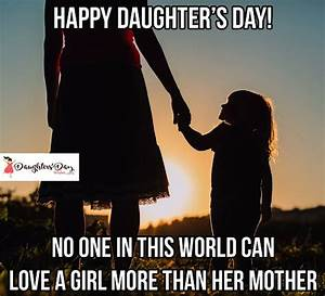 Happy Daughters... Daughter Day 2019