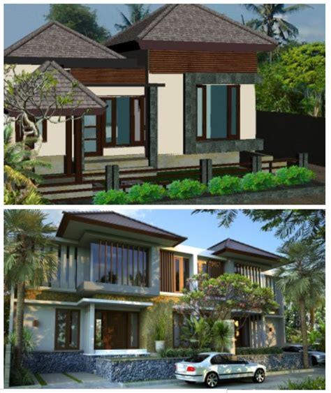 desain rumah minimalis gaya amerika eropa bali jepang