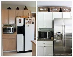 small kitchen remodel with a modern farmhouse style With kitchen cabinets lowes with wall street journal life and arts