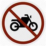 Parking Area Motorcycle Bike Icon Motorbike Signs