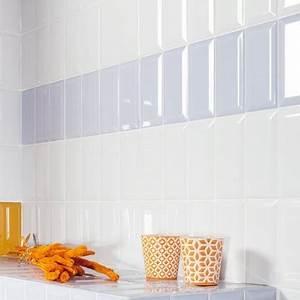 Carreau Metro Blanc : awesome faience metro blanc photos design trends 2017 ~ Preciouscoupons.com Idées de Décoration
