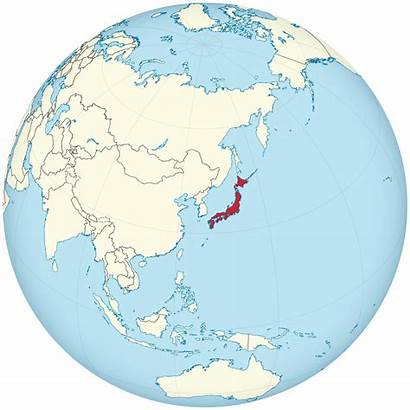 Japan Svg Empire Centered Globe Facto Commons
