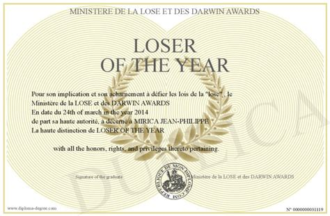 loser   year