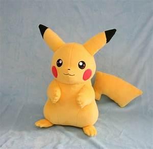 Pikachu Plush by Yukamina-Plushies on DeviantArt