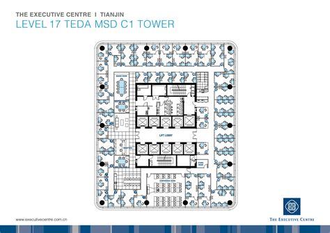pin  thd  tower atlas office floor plan floor plans