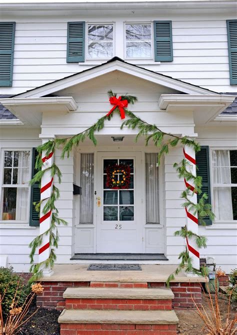 front porch ideas  christmas holiday decorating