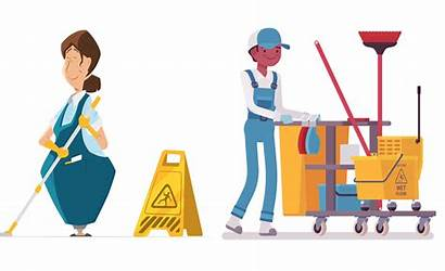 Clean Floor Wet Janitor Clipart Smart Cleaning