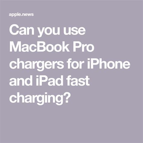 iphone macbook apple use chargers charger ipad fast