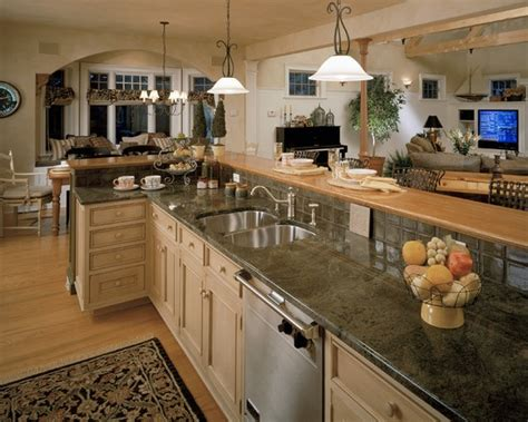 Decorating Ideas For Open Living Room And Kitchen - small open plan kitchen living room design pictures remodel decor and ideas page 15 for