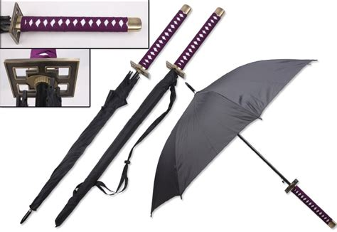 High Quality Fiberglass Samurai Katana Umbrella Sword
