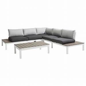 Lounge Set Aluminium : outliv hamilton loungeecke 4 teilig aluminium polywood garten freizeit ~ Indierocktalk.com Haus und Dekorationen