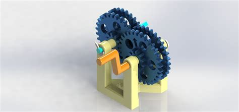 Reverted Gear Train : 3 Steps - Instructables
