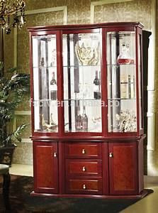 Vintage Furniture,Glass Living Room Showcase Design Wood ...
