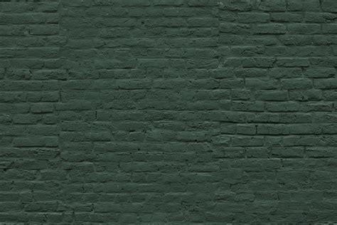 deep green brick wallpaper mural murals wallpaper