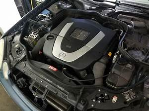 W211 Engine Compartment Fuse Box