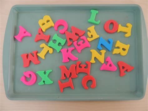 magnetic alphabet letters teaching the alphabet with magnetic letter match printables