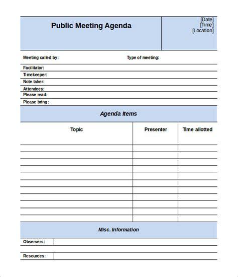 meeting minutes template free 50 meeting agenda templates pdf doc free premium templates