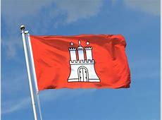 Hamburg Fahne kaufen 90 x 150 cm FlaggenPlatzde