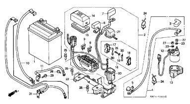 05 Honda Rubicon Wiring Diagram by Failed Electrics Honda Foreman Forums Rubicon Rincon