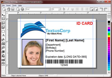 student id card template psd
