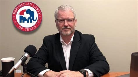 texas republican party chairman james dickeys monthly update
