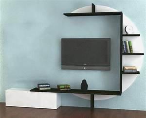 Etagere Murale Pour Tv : etagere murale pour tv id es de d coration int rieure french decor ~ Teatrodelosmanantiales.com Idées de Décoration