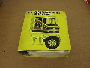 1979 Ford Cl-9000 Semi Cabover Coe Truck