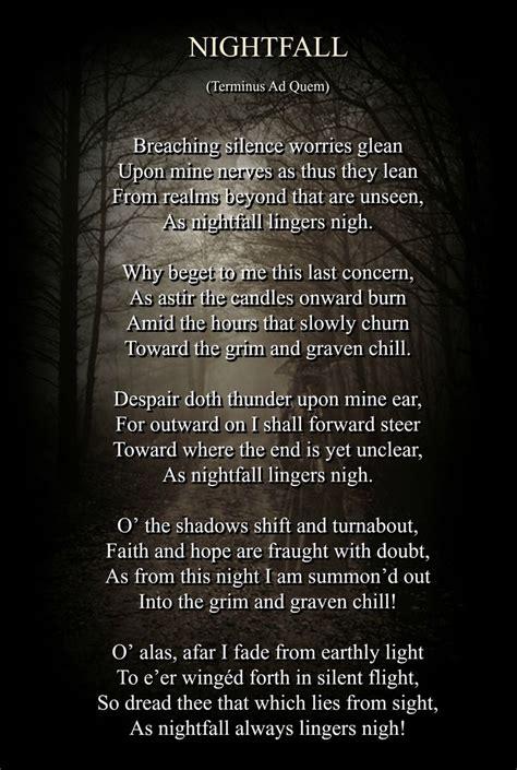 gothic poem    mccallum visit  website
