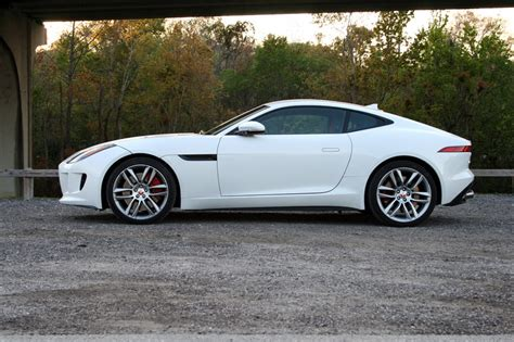 2015 jaguar f type r coupe driven top speed