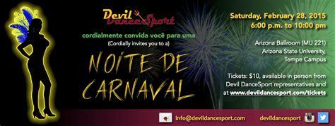 noite de carnaval devil dancesport