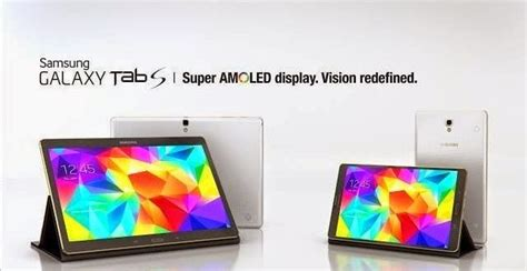 Samsung Galaxy Tab S Super Amoled Screen Compared To Other