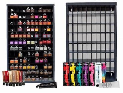 Rack Colour Salon Bar Organizer Looking Cabinet