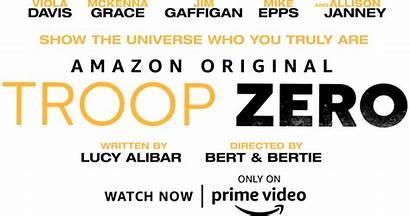 Zero Troop Synopsis Studios Mckenna Grace