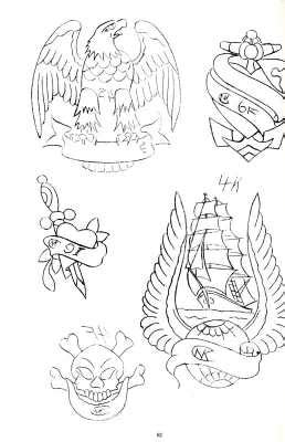Sina-Shop - Sailor Jerry´s Tattoo Stencils 2