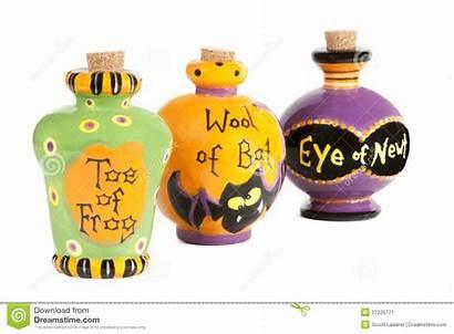 Halloween Potion Ceramica Ingredients Ceramic Containers Pozione