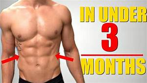 3 Exercises To Get Ripped Six Pack Abs Fast