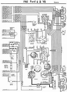 65 Ford Galaxie Wiring Diagram Schematic