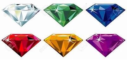 Precious Stones Sparkle Clipart Diamond Cut Gem