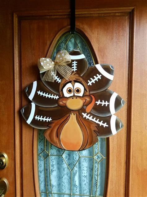 turkey door hanger christmas door hanger door wreath