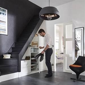 Escalier 1 4 Tournant Gauche : escalier 1 4 tournant gauche bois normandie cm 13 marches sapin petites cuisines ~ Dode.kayakingforconservation.com Idées de Décoration