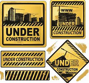 Building and construction icons vector Free Vector / 4Vector