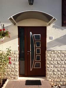 Sonnette Porte D Entrée : portes d 39 entr e aluminium k line menuiserie alu pvc bois ~ Dailycaller-alerts.com Idées de Décoration