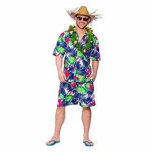 Funny Hawaiian Party Guy Shirt u0026 Shorts Fancy Dress Up Party Costume Outfit New   eBay