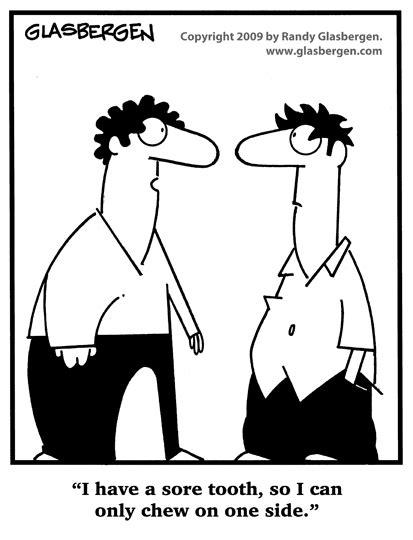 dentist randy glasbergen glasbergen cartoon service