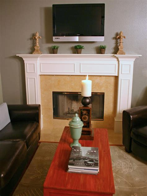 Decorating Ideas Above Fireplace by Fireplace Design Ideas Hgtv