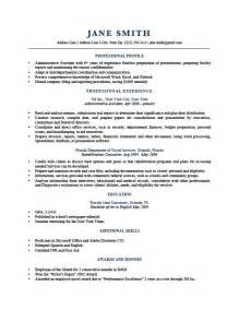 profile in resume for internship how to write a professional profile resume genius